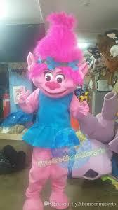 Costume Rental Shop Drop Me Troll Poppy Troll And Branch Troll Mascot Costume Fancy Dress