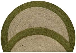 Indoor Outdoor Round Rugs by Round Grass Rug Roselawnlutheran