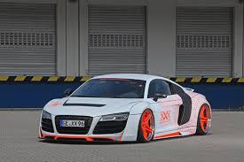 audi custom cars 2014 audi r8 gets killer slammed look from performance
