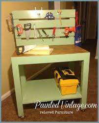 Boys Wooden Tool Bench Workbench Plans Easy U0026 Diy Wood Project Plans