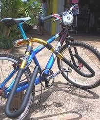 amazon com carver surfboard bike rack shortboard bicycle