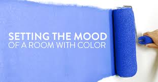 setting the mood in your rooms with color