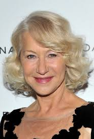bob haircuts for sixty year olds helen mirren layered bob hairstyle with curls for women over 60