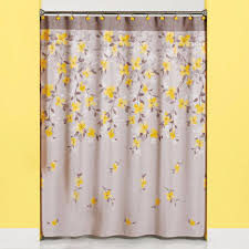 Cloth Shower Curtains Spring Garden Floral Fabric Shower Curtain Curtainshop Com