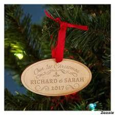 joyeux noel classic wood ornament with dark walnut stain great to