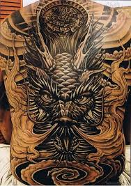 japanese back tattoo 42 nice black and grey tattoos for back