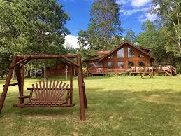 bass lake log house 3 season full service vrbo