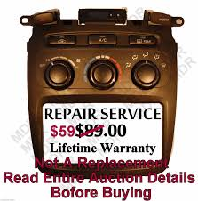 used toyota highlander a c u0026 heater controls for sale