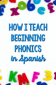 how i teach beginning phonics in spanish spelling patterns