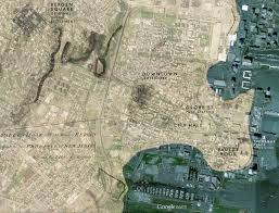 Map Of Jersey City Raisch Studios Family Films And History Historical Notes