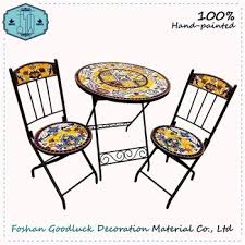 mosaic bistro table sets online buy cheap folding patio furniture