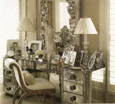 old hollywood glamour furniture personal dressing area designed