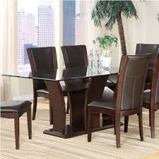 Dining Room Accent Furniture Dining Table With Glass Top Dining Tables