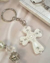 baptism keychain 20 pink keychain angel baptism communion wedding favors party
