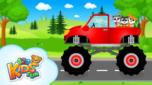 monster truck cartoon videos monster truck car for kids kids vehicles tashi adventures
