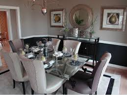 Dining Room Glass Table Decor Centerpieces Talkfremont - Glass dining room table set