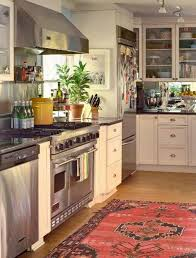 Kitchen Rugs Washable by Decorating Spectacular Red Woven Kitchen Rugs In Squares Theme