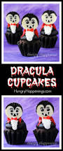 dracula cupcakes white reese u0027s cup vampires for halloween