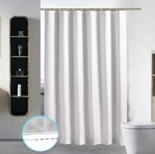 Hotel Quality Shower Curtains Bathroom Shower Curtain Liner Waterproof Fabric Mildew