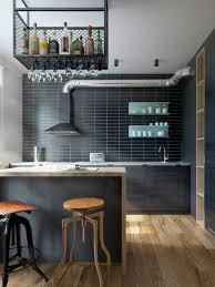 cuisine americaine appartement intérieur design moderne pour un petit appartement à minsk