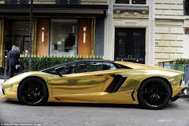 most expensive car lamborghini this 4 million golden lamborghini is probably the most