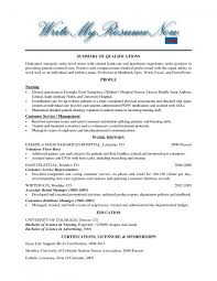 Student Nurse Resume Examples by Sample Charge Nurse Resume Resume For Your Job Application