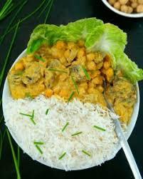 cuisiner le tofu soyeux curry de pois chiche vegan au tofu soyeux mail0ves