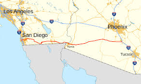 Map Of San Diego County by Interstate 8 Wikipedia