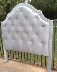 tufted headboard upholstered velvet linen king queen full twin