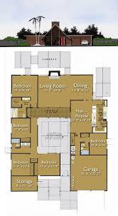 Mid Century Modern Ranch House Plans Best 25 Atrium Homes Ideas On Pinterest Atrium House Architect