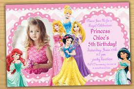 18th Birthday Invitation Card Designs Princess Birthday Invitations Marialonghi Com