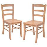 Amazoncom Wood Chairs  Kitchen  Dining Room Furniture Home - Dining room chairs wooden