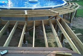 barry u0027s pool deck deck project