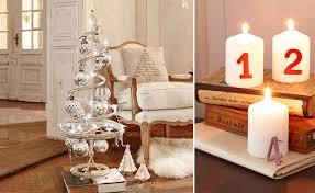 Wohnzimmer Deko Shabby Festliche Weihnachtsdeko Für Das Wohnzimmer