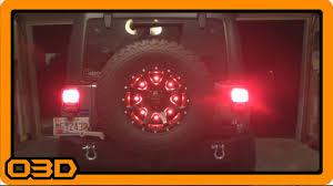 jeep wrangler third brake light cpo led third brake light how to youtube