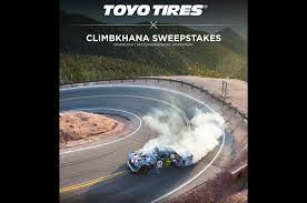 Magazine Sweepstakes Toyo Tires Announces Climbkhana Sweepstakes
