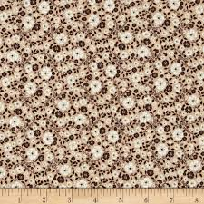 riley blake rodeo rider rodeo calico brown from fabricdotcom