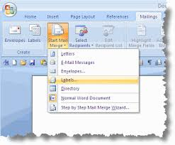 How To Create Business Cards In Word Mail Merge Labels With Microsoft Office