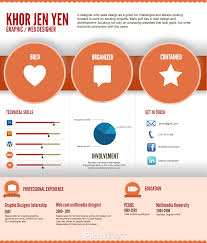 Best Resume Examples For Graphic Designers by Infographics Infographic Resume By Khor Jen Jen Business