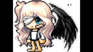 maplestory hair style locations 2015 maple story lively waved and bright eyes combo youtube