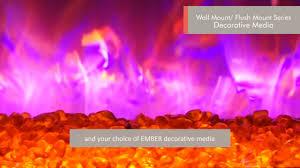 amantii fire u0026 ice wm fm series of electric fireplaces youtube