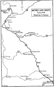 Map Of Columbia South America by A Guide To The Mother Lode Country 1948 U201csignificant Towns Of