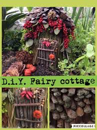 cost free d i y fairy cottage how to make a fairy home free