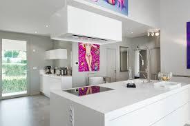 hotte de cuisine ilot cuisine avec hotte ilot cuisine en image