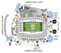 Map Of Pittsburgh Pennsylvania by Heinz Field Seating Charts And Stadium Diagrams