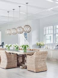 Light Dining Chairs Rope Dining Room Chandelier Design Ideas