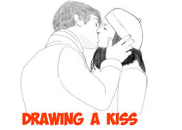 drawing kissing archives draw step step drawing tutorials