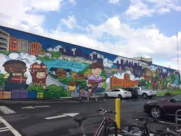 your guide to atlanta public art 29 works to see right now kwon created this joyful and adorable 186 foot long mural on the trail side of