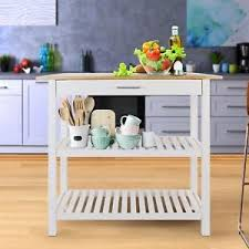solid wood kitchen island cart kitchen island cart w solid wood top island counter table