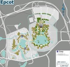 Disney World Epcot Map File Epcot And Resorts Map Png Wikimedia Commons